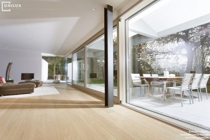 Martin Hees Holzbau Fenster Maxi Elemente Pfosten